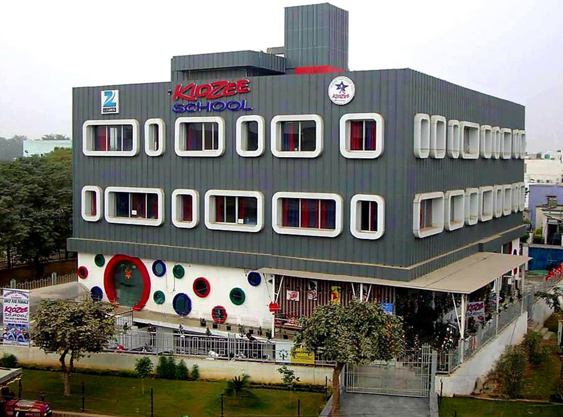 Kidzee School by Cityspace'82 Architects - Projects, Institutional Design,  School Design - Commerical Design India