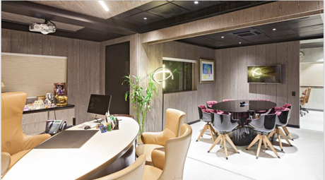 A corporate office by KNS Architects that showcases amalgamation of styles