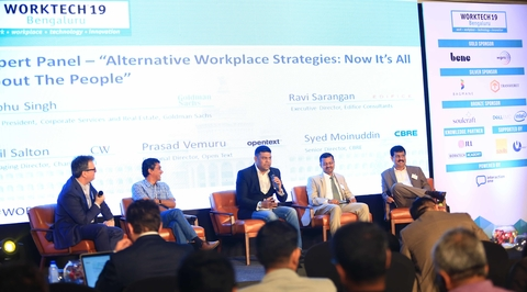 WORKTECH hosted its first ever conference in India in Bengaluru