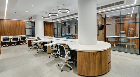 SKCL office designed by Ark & Arts