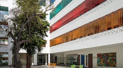 The British School by Morphogenesis, New Delhi