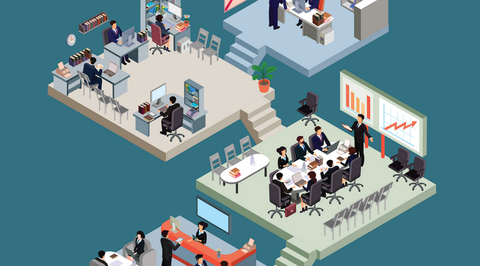 How to make open-plan offices work?
