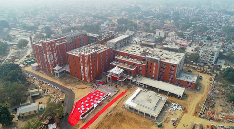 India's largest cancer care centre executed under record period of 10 months