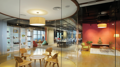 Inshorts Media office by Edifice Consultants