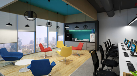 GAR Corp office at Hyderabad by ANJ Group