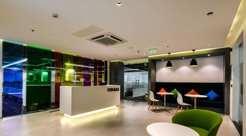 FCB India office in Mumbai by ANJ Group