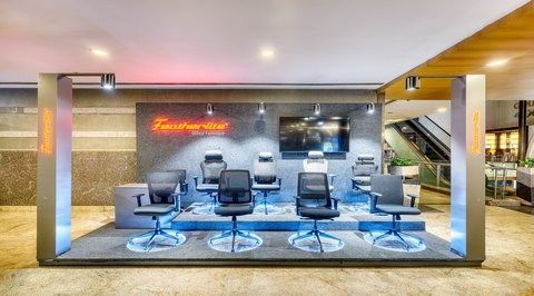 Ergonomic furniture by Featherlite marks a debut at Orion mall