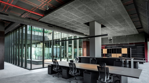 East India Hotel Corporate Headquarters by Architecture Discipline