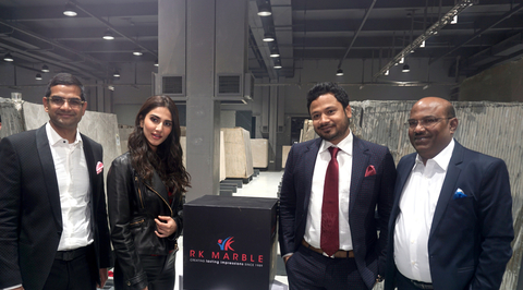 R K Marble adds more power to its long legacy of 30 Glorious years with the largest Marble hub 'Experience one'