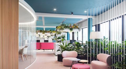 The Maldives of design workspace by Roman Klis Design