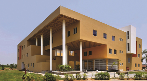 IQ City Nursing College, West Bengal by Abin Design Studio