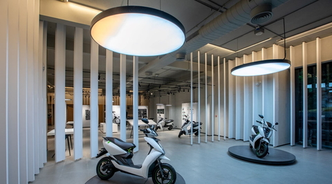 Studio Lotus creates an experience centre for an automotive brand in Chennai