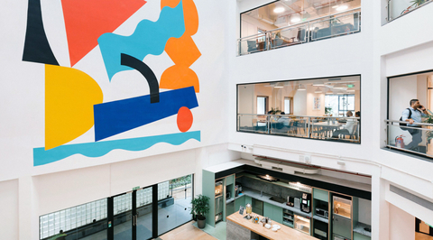 WeWork delivers a creative customised space for a design college