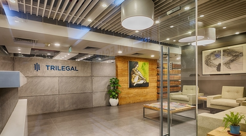 Trilegal's corporate office designed by RSDA
