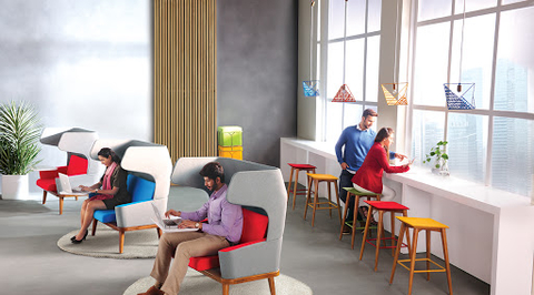 Godrej Interio launched its first Social Office experience centre in Hyderabad