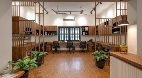 Lawyer's office, Pune by The Arch Studio
