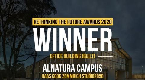 Rethinking The Future Awards 2020- Winner: Office Building (Built)