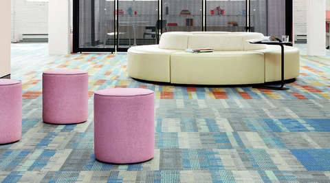 Shaw Contract introduces Campus carpet tiles