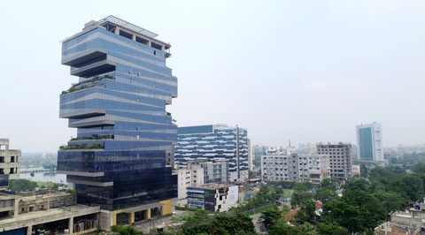 The first biophilic corporate park of East India by Salient Design Studio