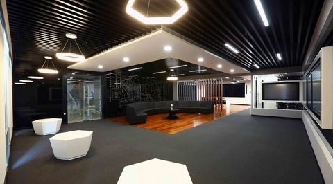 Client Briefing Centre, Infosys Chennai, designed by Narsi Associates
