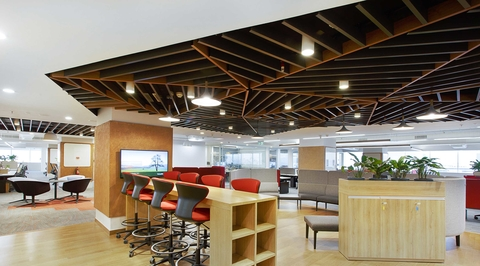 """AVA  Design Studio explores the """"neighbourhood-approach"""" for Bain Consulting's new office"""