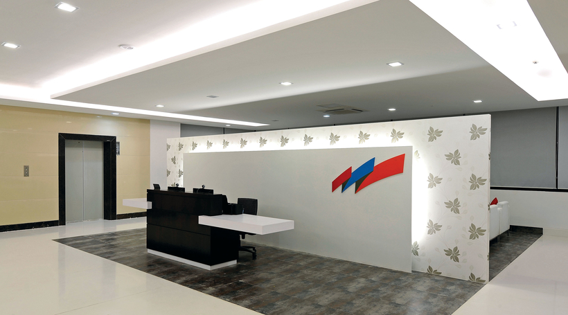 India First Insurance office by Team One Architects