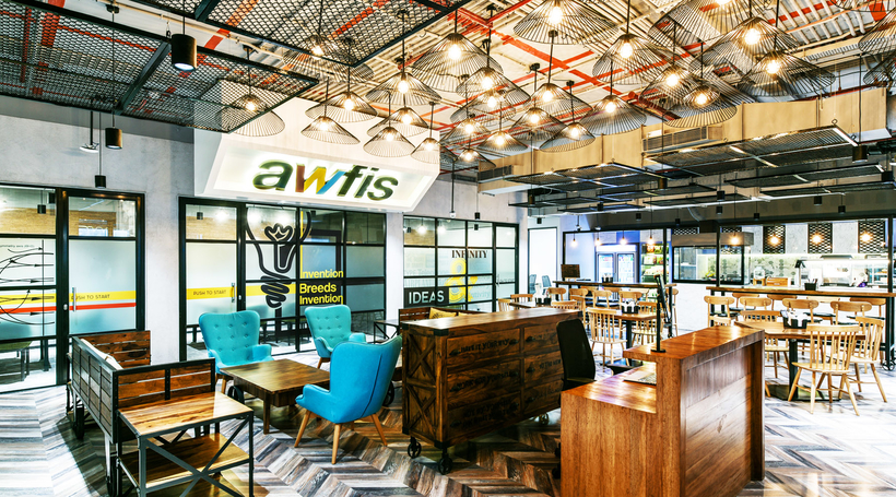 Coworking Industry Commerical Design India