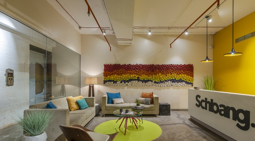 Modern Indian office- Schbang by The Ashleys