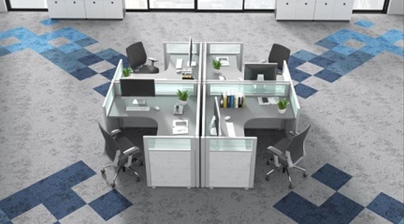 Spatium6, by Welspun Flooring, is designed for behavioral change