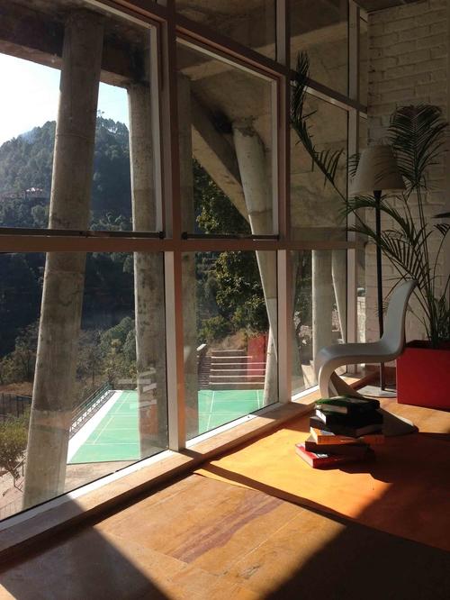 Yogananda Library in Himachal Pradesh designed by Studio Archohm.