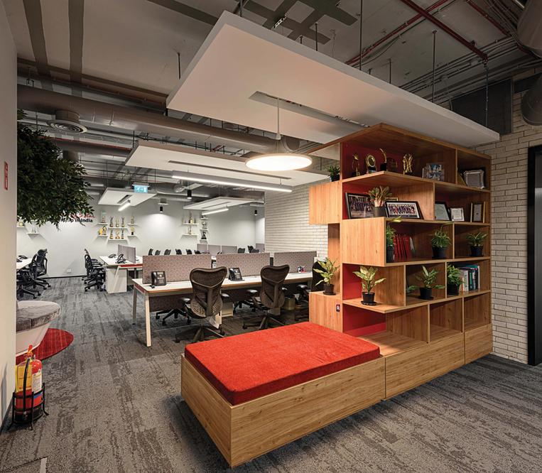Modern Style Advocate Office Interior Design India
