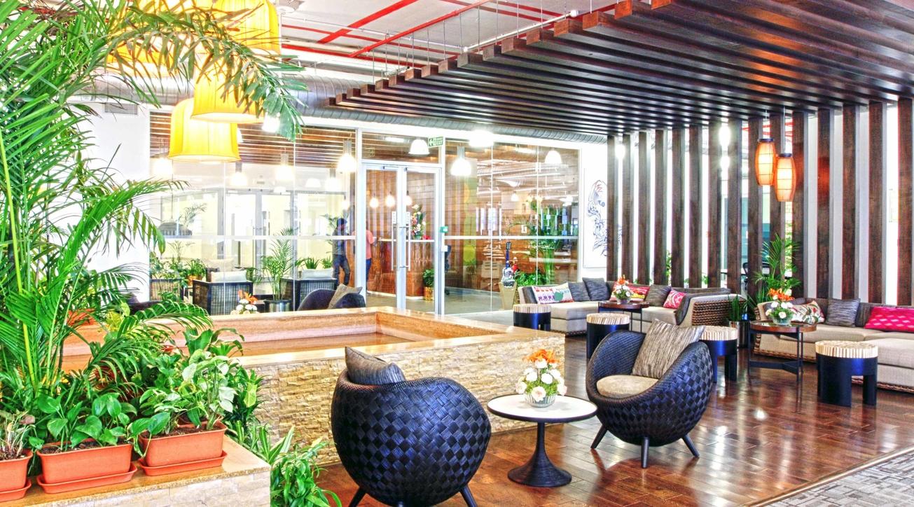 Facebook office, Hyderabad, KGD Architecture, Office design, Office interiors, Corporate office design