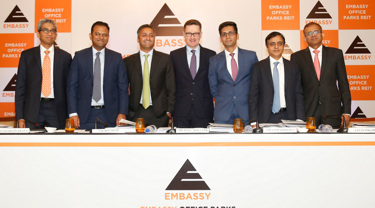 Embassy Office Parks REIT, Blackstone Group, News, Office park, IPO