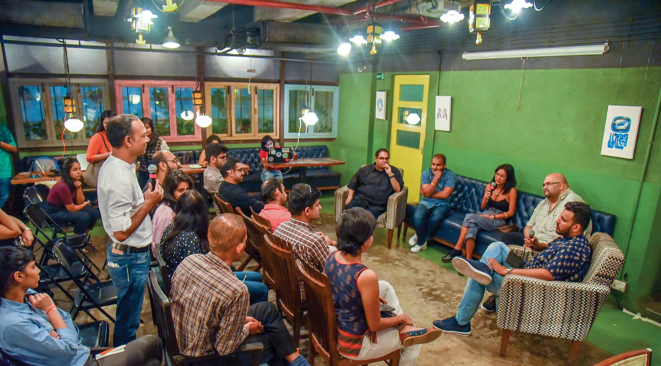Social hosted a panel discussion on 'Influence of coworking spaces and the impact of collaboration'.