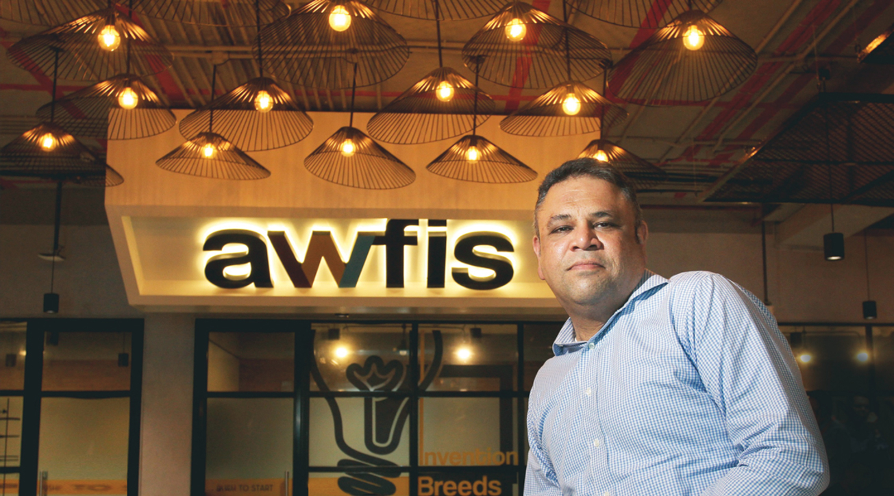Amit Ramani, CEO and founder, Awfis