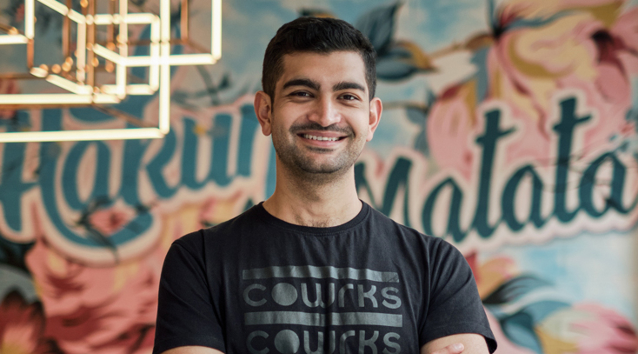 Sidharth Menda, CEO of of CoWrks,