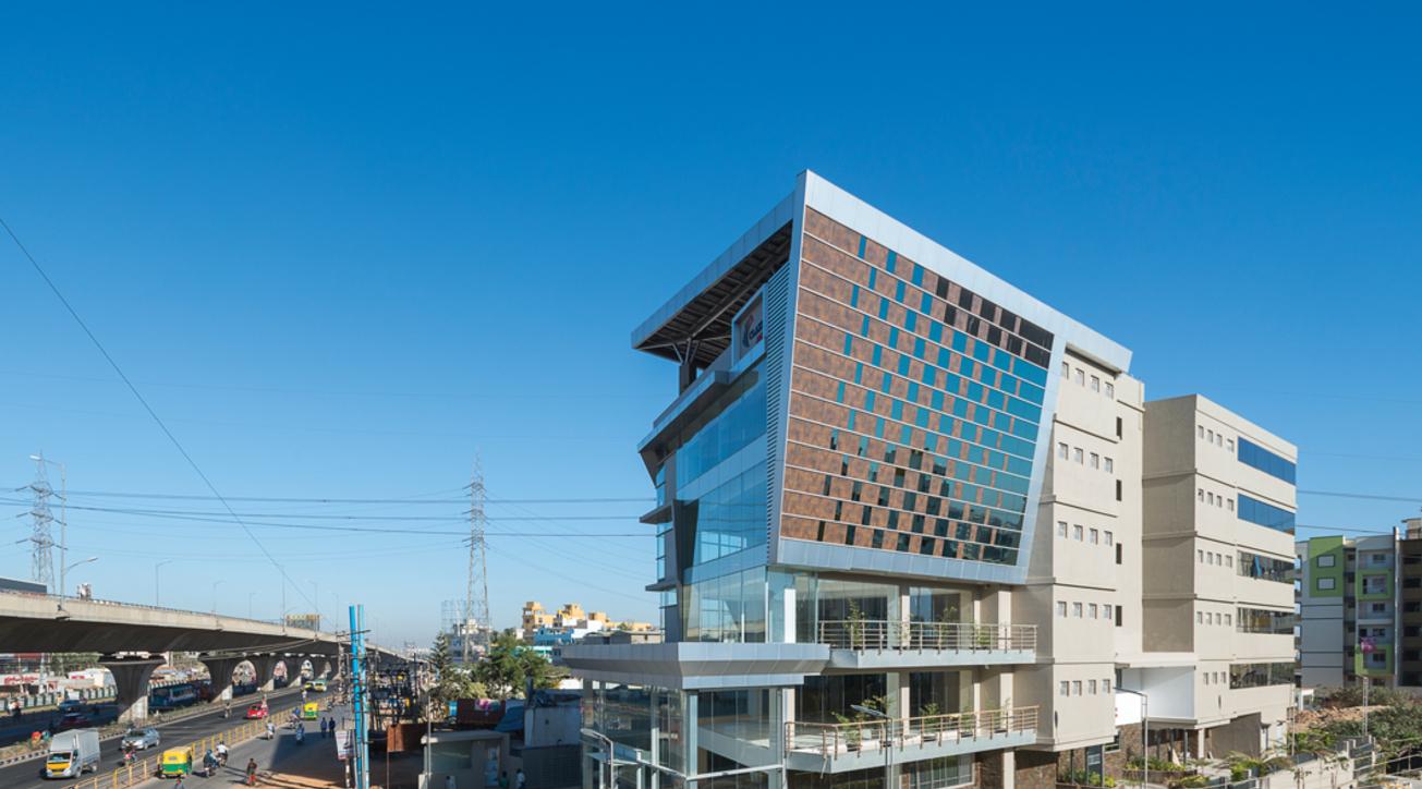 Building facades, Saint gobain, Aluplex, Shueco, Glass facades
