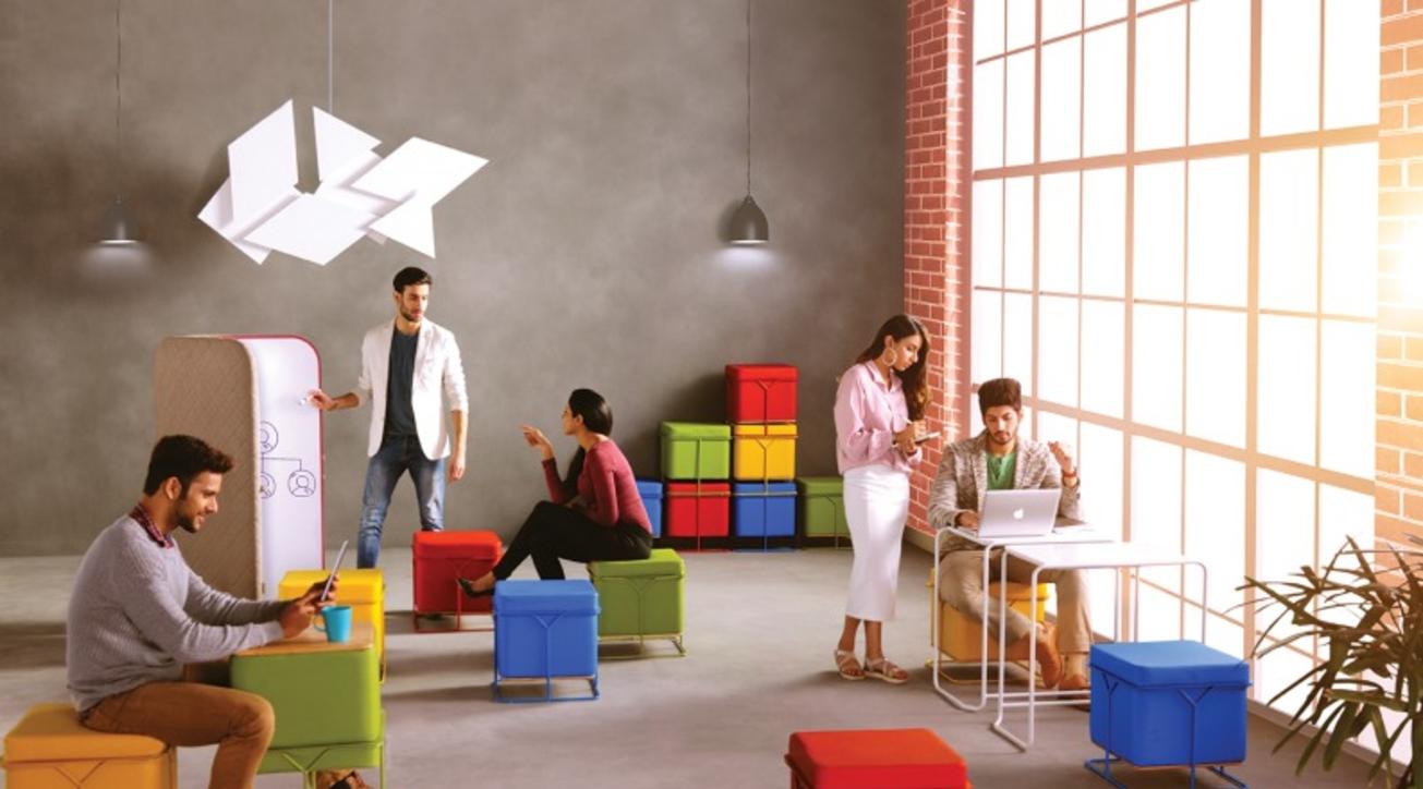 Benefits of social offices, Godrej Interio, Workspace design trends