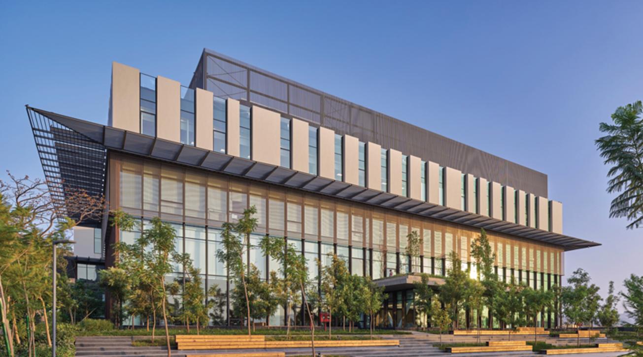Lupin Research Park, Venkatramanan Associates, Institutional architecture