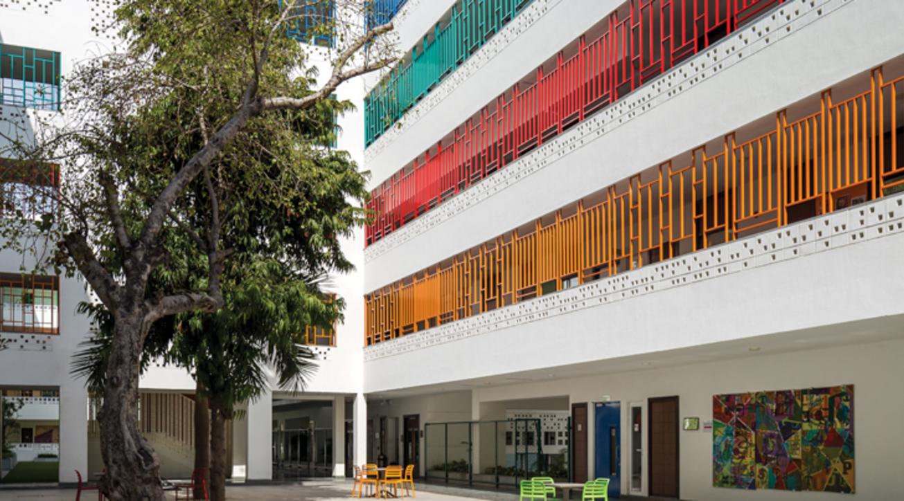 British School, New delhi, Morphogenesis, Institutional design, Optimal Consultants, AECOM, Design Cell