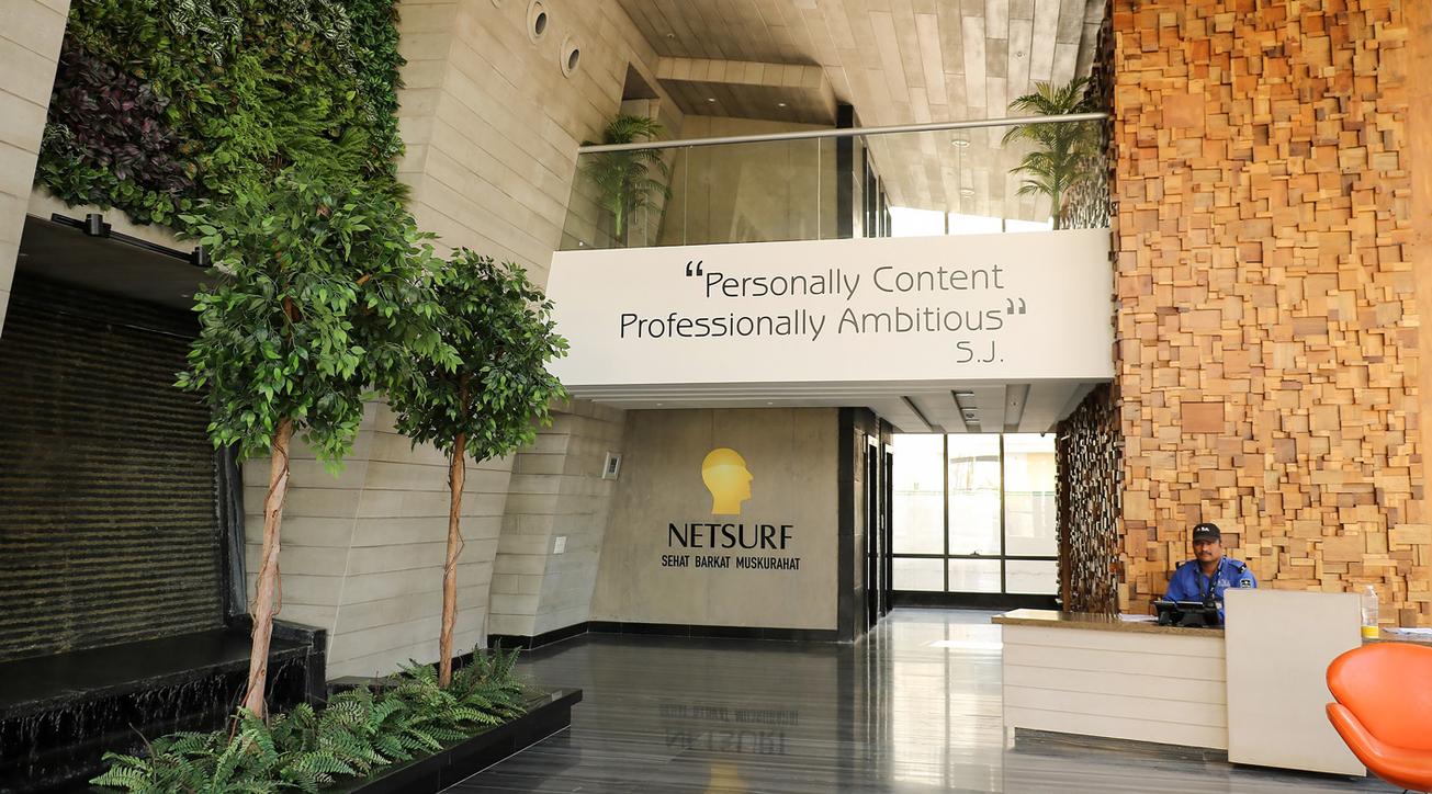 Netsurf Communications, Corporate office design, Metaphors Design, Pune