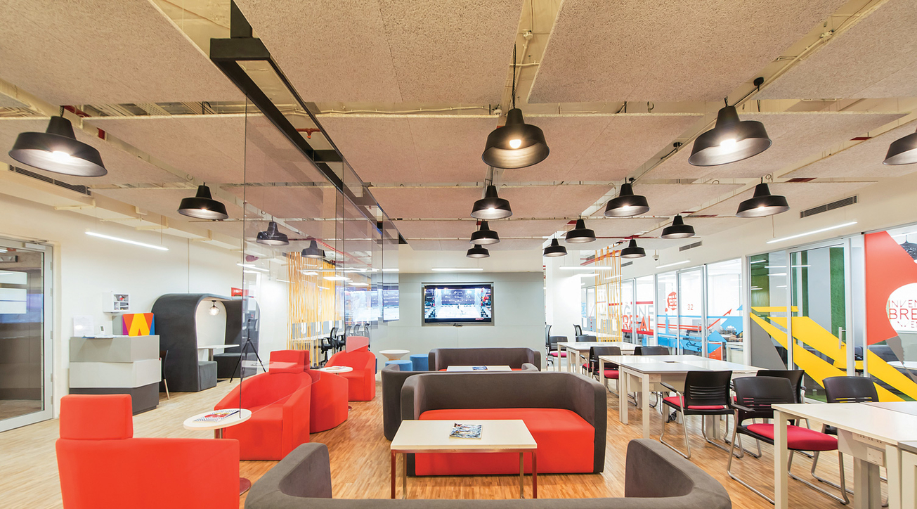 Awfis, Workspace design, Casestudy, Cowrking