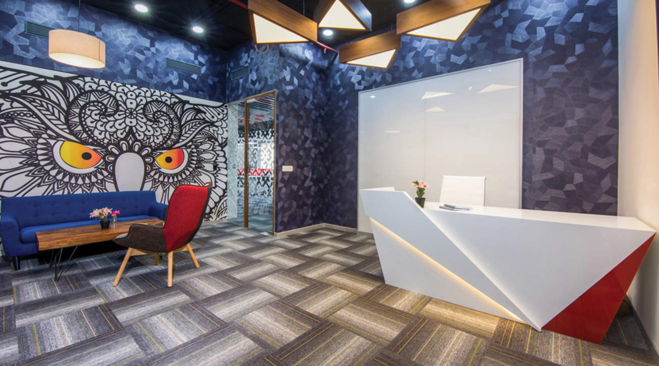 Thar interiors, Workplace Solutions, Design and build