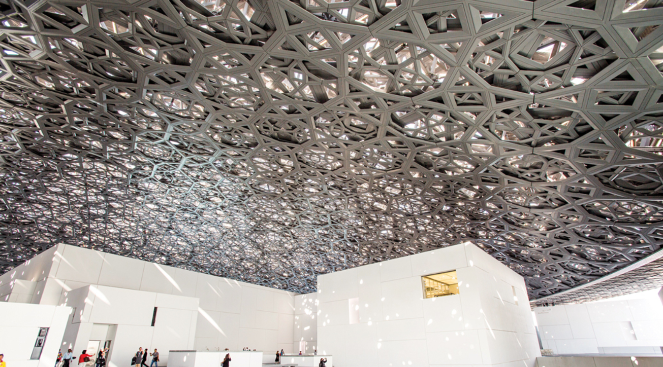 Jean Nouvel, Louvre Abu Dhabi, Museum complex