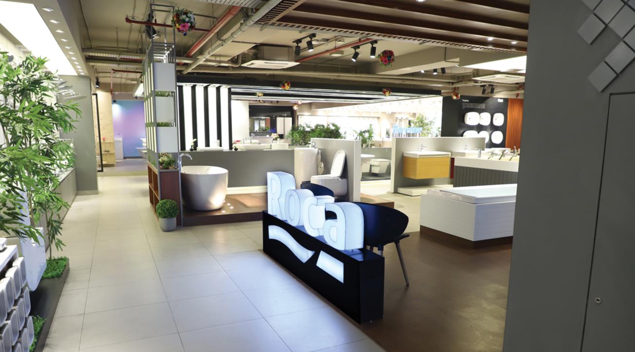 Roca, Display studio, Navjot Paul Singh, Parryware, Experience center