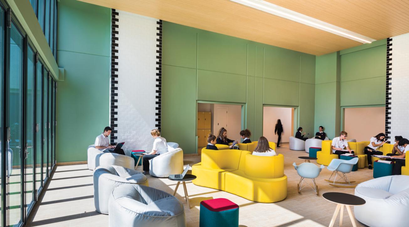 Institutional design, School', Lulie Fisher Design Studio