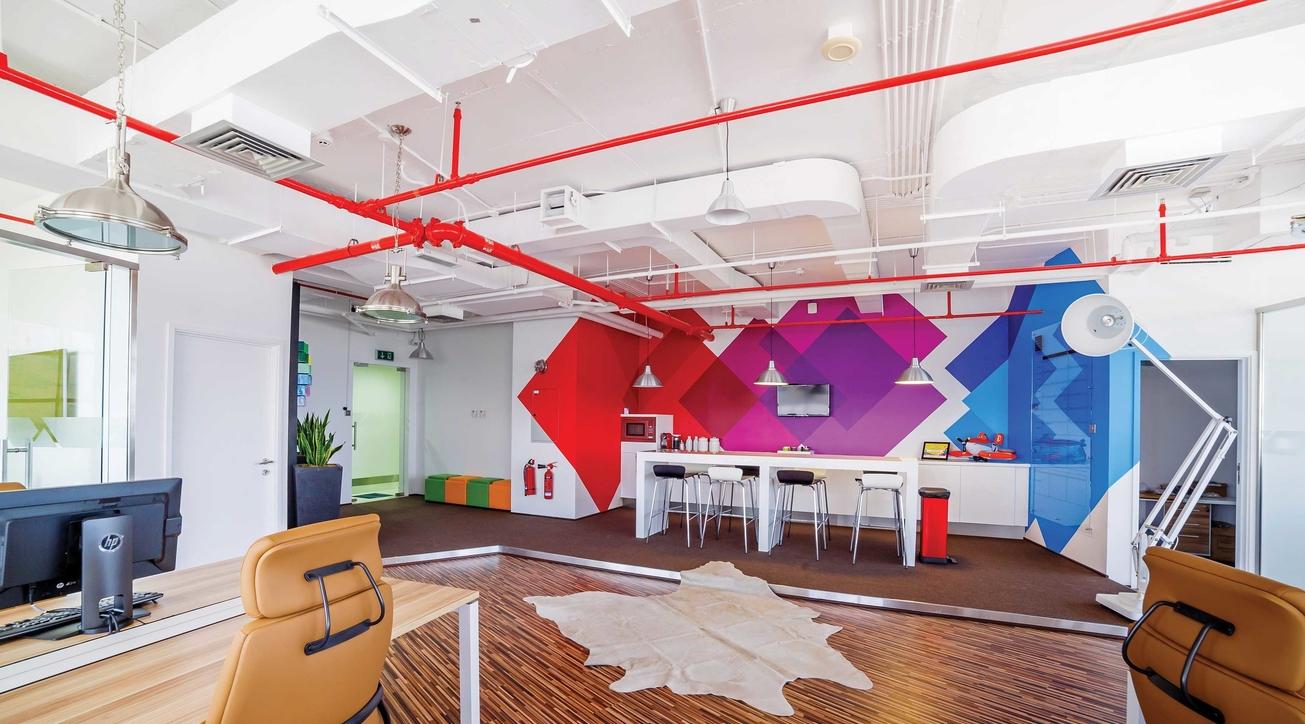 Corporate office design, VPCPL, Ninad Tipnis, Kartik Punjabi, DSp Associates
