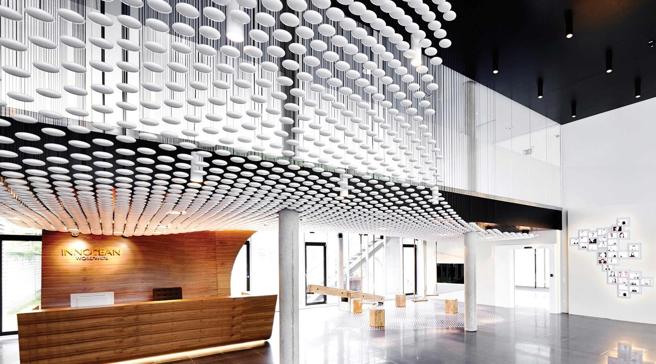 Innocean Headquarters, Ippolito Fleitz Group, Corporate interiors, Office desgn, Modern office design