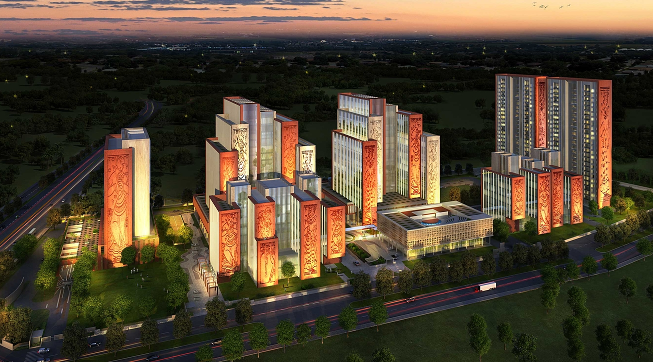 ITC Campus, Kolkata, Mixed-use development, Morphogenesis