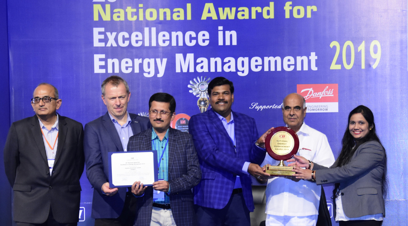 Vedanta, CII National Award, Excellence in Energy Management 2019